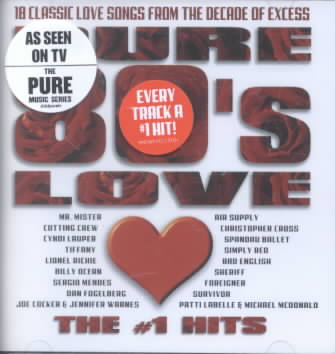 PURE 80S LOVE:THE NUMBER 1 HITS (CD)